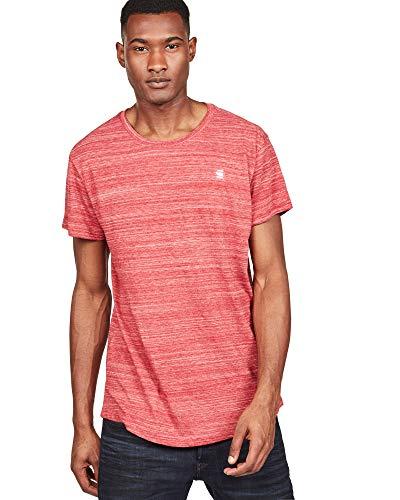 G-STAR RAW Herren Starkon Loose T-Shirt, Rot (Baron 1828), Gr.-M