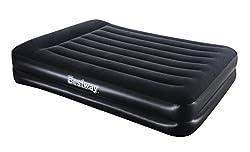 Bestway Luftbett Comfort Quest Premium Plus Queen Size mit Eingebauter Pumpe, 203 X 152 X 48 cm, 67403