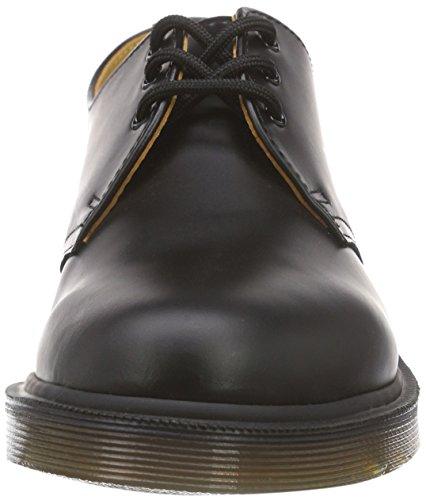 Dr. Martens 1461 Scarpe basse stringate, Unisex, Adulto Nero (Black Smooth Pw)
