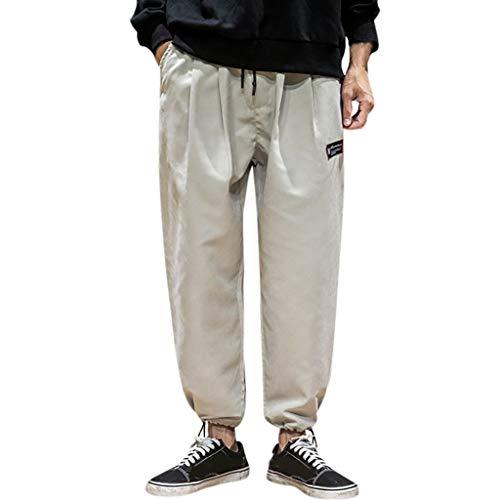 Männer Sports Hosen, sunnymi Freizeit Bundle Meun Minuten-Hose Modische Einfarbige Hose -