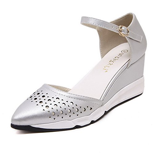 allhqfashion-womens-pu-solid-buckle-pointed-closed-toe-kitten-heels-pumps-shoes-silver-35