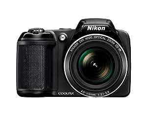 Nikon Coolpix L340 Bridge Camera - Black (20 MP, 28x Optical Zoom) 3-Inch LCD