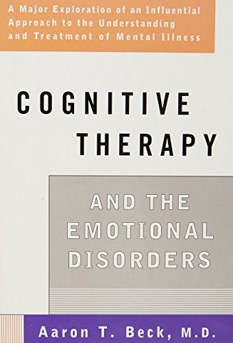 Portada del libro Cognitive Therapy and the Emotional Disorders (Meridian) by Aaron T. Beck (1979-10-01)