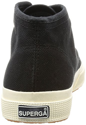 Superga 2754 Cotu, Baskets Basses Mixte Adulte Noir - Schwarz (999)