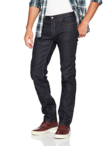 HUGO Herren Straight Jeans 708, Blau (Dark Blue 401), W36/L32