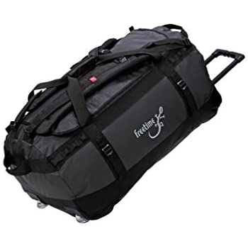 f735ca82a5 Freetime-Valise Trolley 100 L - Sac de Voyage à roulettes - Duffel Bag  Wheeled