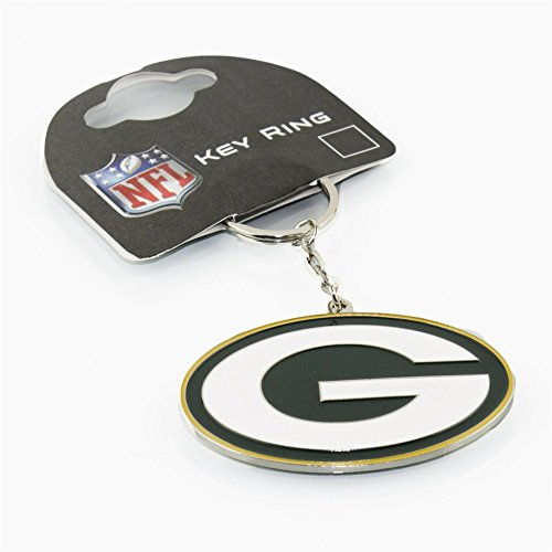 Forever Collectibles Green Bay Packers Crest NFL Schlüsselanhänger