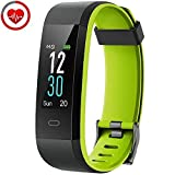 YAMAY Orologio Fitness Tracker Cardiofrequenzimetro da Polso Smartwatch Android iOS Uomo Donna Bambini Impermeabile IP68 Contapassi Calorie Sport Nuoto Corsa per iPhone Huawei Samsung Xiaomi Phone