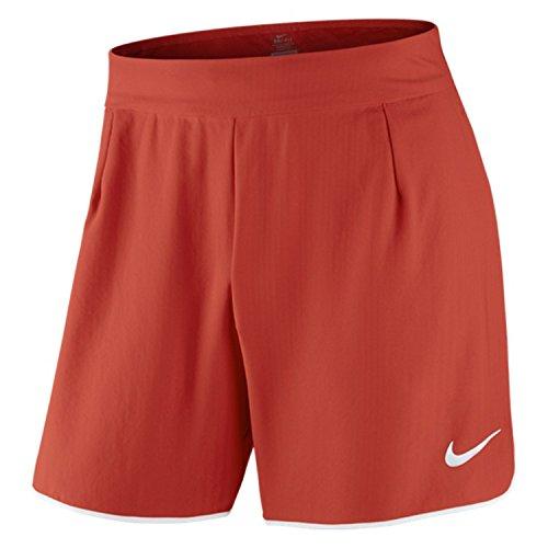 Nike Herren Shorts M NK FLX gladtr Short 7in PR XL rot/weiß (LT Crimson/weiß/weiß)
