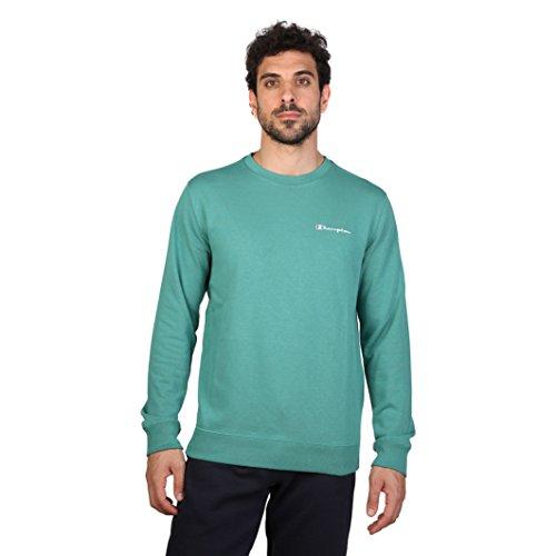 champion-herren-sweatshirt-grun-grun-xl