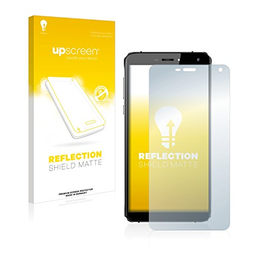 upscreen Entspiegelungs-Schutzfolie kompatibel mit Oukitel U11 Plus - Anti-Reflex Bildschirmschutz-Folie Matt