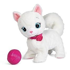 IMC Toys – 95847 – Club Petz Bianca gattina interattiva (Lingua Italiana)