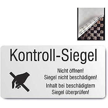 rot PE 1000 Etiketten auf Rolle sealed permanent haftend /Ø 15 mm Labelident Siegeletiketten Dokumentenfolie