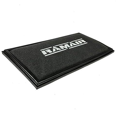 Ramair Filters RPF-1512 High Performance Dry Foam Panel Air Filter, Black