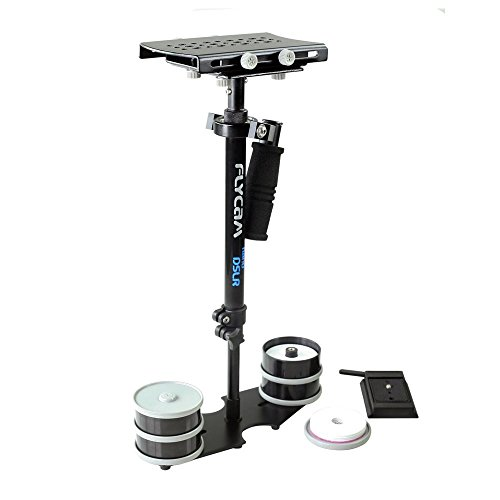 Flycam Professional DSLR Nano Handheld camera Steadycam video stabilizer Quick Release Adapter Plate for DSLR upto 1.5kg (DSLR-NANO-QR)  available at amazon for Rs.5895