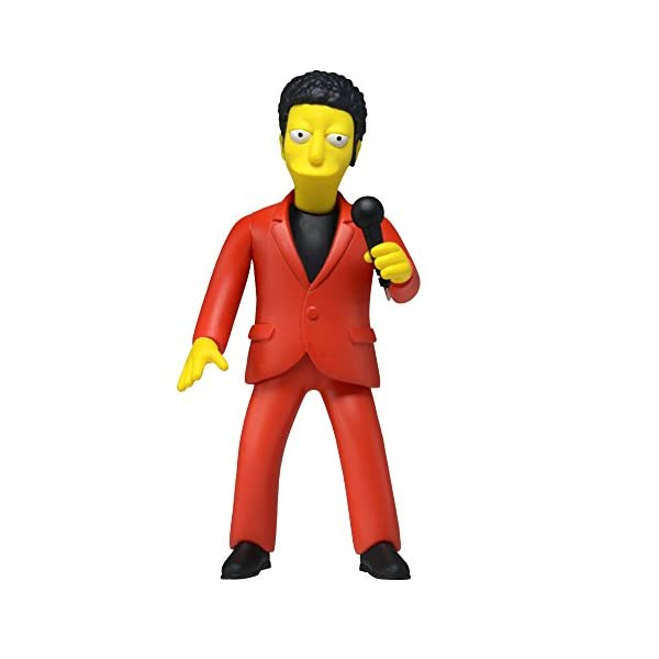 NECA Simpsons 25th Anniversary Series 4 Tom Jones 5 Celebrity Action Figure by NECA 1