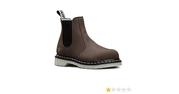 Ladies Doc Marten DM Chelsea Arbor Dealer Steel Toe Safety Work Boot sizes 3-8