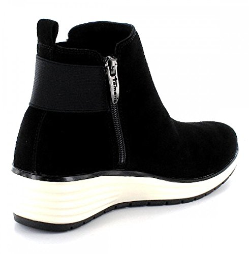 Tamaris1-1-25825-35/001 - Chelsea Boots Donna Nero