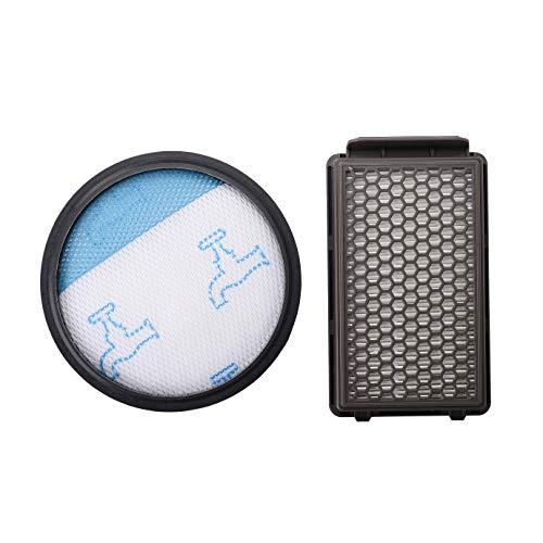 Kit de Filtro de Espuma y Filtro HEPA para Rowenta/Tefal/Moulinex Compact Power Cyclonic Aspiradoras