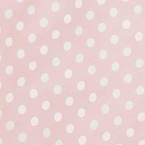 mDesign Set da 5 Scatole portaoggetti e porta giochi con diversi scomparti – Scatole per armadi ideali per organizzare gli accessori nelle camerette per bambini – rosa chiaro e bianco - 7