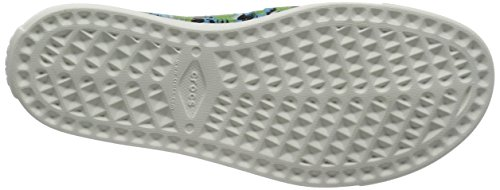 Crocs - Citilane Roka Tropical, Pantofole Uomo Bianco/Bianco (Electric/Blue/White)