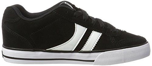 Globe Encore-2, Sneaker Basse Bambino Nero (Black/white 10046)