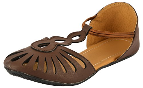 SHOE SPLASH Casual Brown Bellies Sandals For Women's And Girls - 6 UK