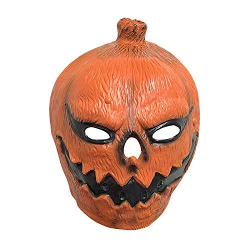Kürbis Halloween Maske - Masken Halloween Kürbis Kopfbedeckung Maskerade
