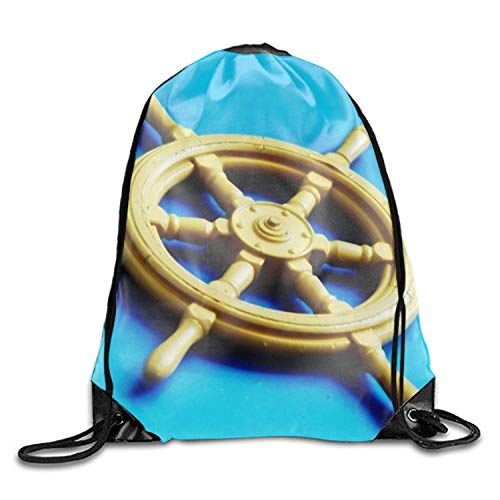 ZZHOO West Virginia State Flag Sackpack Drawstring Bags Polyester Backpack Outdoor Sports Gym Bag Yoga Runner Daypack Team Training Gymsack Big Capacity (Twin Sides) -