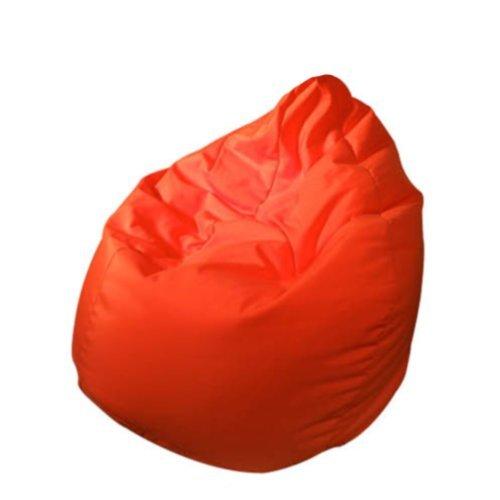 Outletissimo® poltrona sacco pouf pouff puff puf rosso modello mega 90x135cm nuovo offerta