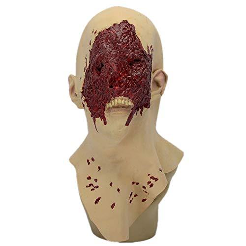WHLMJ Latex Maske Halloween Make-Up Kein Fleisch Und Blut Kein Gesicht. Maske