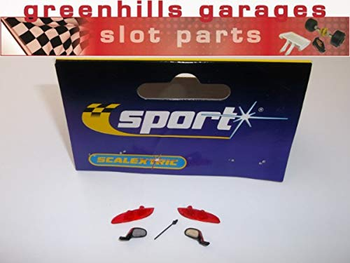 Greenhills Scalextric Accessory Pack Seat Leon Mirrors/Light