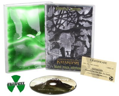 KATAKLYSM, Waiting for the end to come SLIMEPACK - CD-Boxset