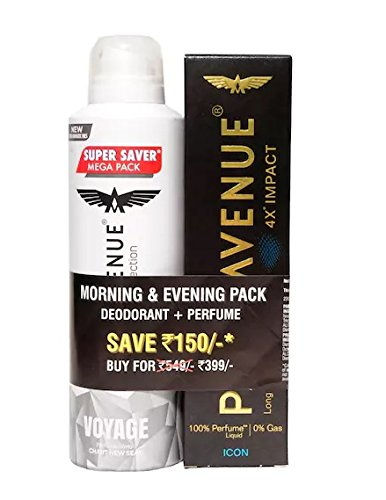 Park Avenue Mega Voyage, 220ml with Premium Perfume, 120ml (Buy 2 Get Rs. 150 Off)