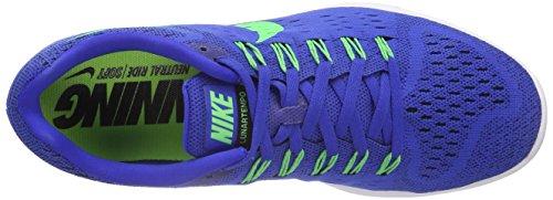 Nike Lunartrainer Herren Laufschuhe Blau (Lyon Blue/Poison Green-White-Black)