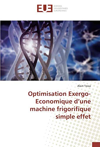 Optimisation Exergo-Economique d'une machine frigorifique simple effet