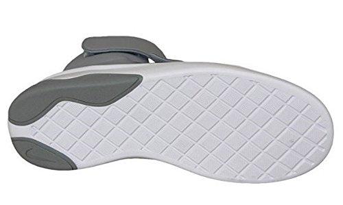 Nike Stealth / Stealth-hot Lava-white, espadrilles de basket-ball garçon gris - Gris (Stealth / Stealth-Hot Lava-White)