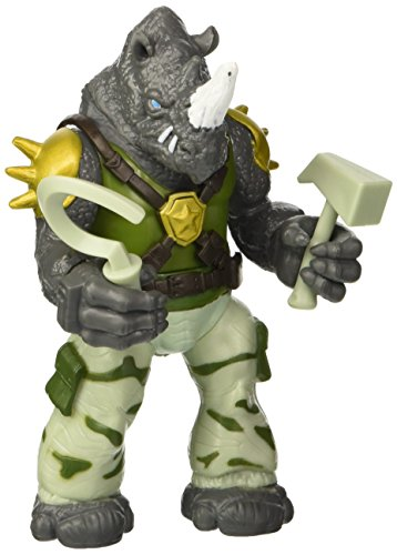 Teenage Mutant Ninja Turtles - Rocksteady Figur (ca. 12cm) [UK Import]
