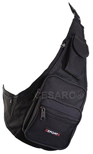 Crossbag Brusttasche Reisetasche Sporttasche Urlaub Sport Bag Tasche 0429 Rot