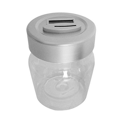 Fannty Coin Piggy Bank Saving Jar, Contador de Monedas Digital con Pantalla LCD Caja de Ahorro de Dinero de Gran Capacidad para Todas Las Monedas de EE. UU.
