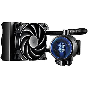 MasterLiquid Pro 120 All-In-One (AIO) Liquid Cooler with FlowOp Technology, Dual Chamber Design and MasterFan Pro Radiator Fan