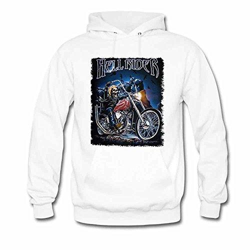 Hell Rider Printed Women's Hoodie S