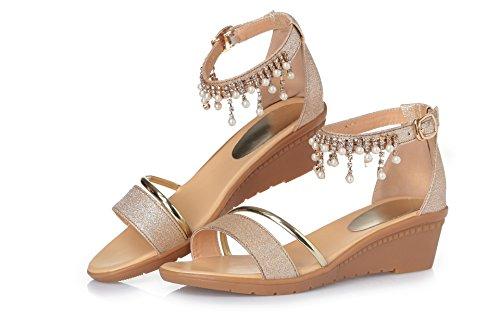 sommer - sandalen sandalen schuhe weichen boden schuhe aus diamant 38