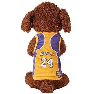Animal pour animal domestique Maillot de football licence Dog Jersey, disponible en 6 tailles, chien Vêtements de football T-shirt pour chiens Costume National Football Coupe du monde de football Chaud