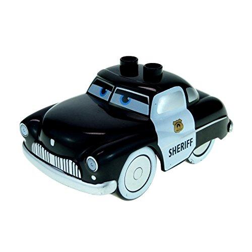 schwarz Cars Sheriff Polizei Disney Pixar Fahrzeug klein 5814 89803pb01 ()