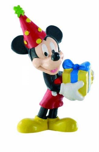 Bullyland 15338 - Spielfigur - Walt Disney Mickey Celebration, ca. 7 cm (Für Disney-figuren Kuchen)