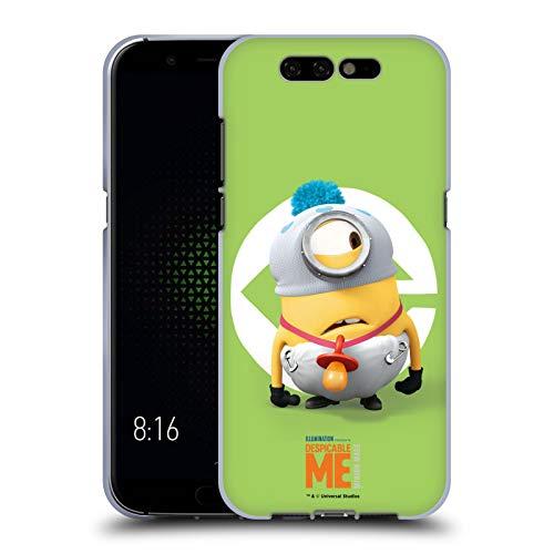 Head Case Designs Offizielle Despicable Me Stuart Baby Kostuem Minions Soft Gel Huelle kompatibel mit Xiaomi Black Shark