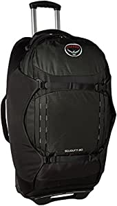 Osprey Sojourn 80 Wheeled Travel Pack, Flash Black, O/S
