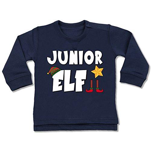 Weihnachten Baby - Partnerlook Junior Elf - 18-24 Monate - Navy Blau - BZ31 - Baby ()