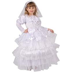 Disfraz De Novia Exquisita Disfraz de Niña
